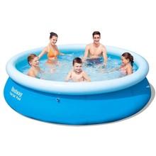 Bestway zwembad rond opblaasbaar 305 x 76 cm 57266