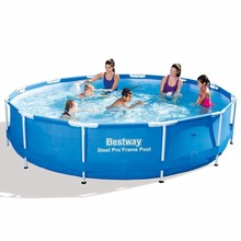 Bestway zwembad rond met stalen frame 366 x 76 cm 56415