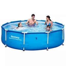 Bestway zwembad rond met stalen frame 305 x 76 cm 56406