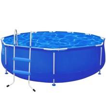 Rond zwembad 360 x 76 cm stalen frame met trap