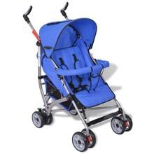 Moderne buggy blauw (5-standen)