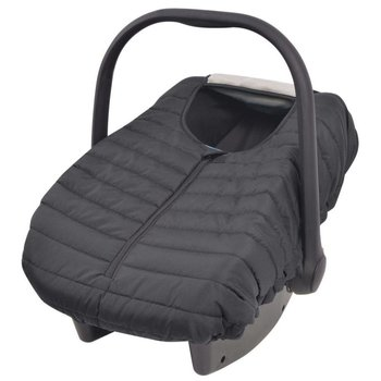 Hoes voor babydrager/kinderzitje 57x43 cm zwart