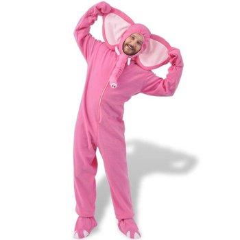 carnavalskostuum olifant roze M-L