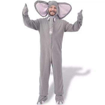 carnavalskostuum olifant grijs M-L