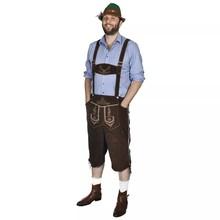 Lederhosen met hoed voor Oktoberfest maat XL