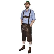 Lederhosen met hoed voor Oktoberfest maat L