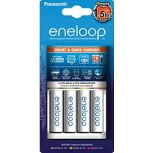 panasonic Panasonic Eneloop CC55 Smart-Quick Charger + 4x Eneloop AA 1900 mAh