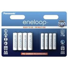 panasonic Panasonic Eneloop Combipack 1x4 Mignon AA + 1x4 Micro AAA