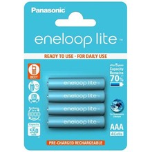 panasonic 1x4 Panasonic Eneloop Lite Micro AAA 550 mAh