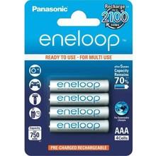 panasonic 1x4 Panasonic Eneloop Micro AAA 750 mAh + Accubox