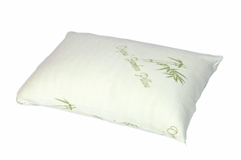 Bamboe Kussen Ervaringen : Bamboe kussen bamboo air pillow ook bekend van tv fine sleep