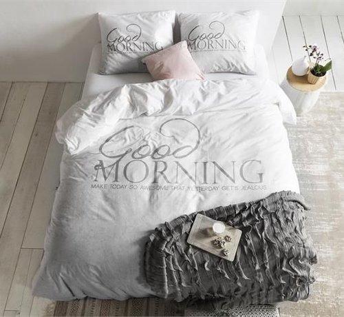Dreamhouse Bedding Dekbedovertrek Soft Morning Antraciet