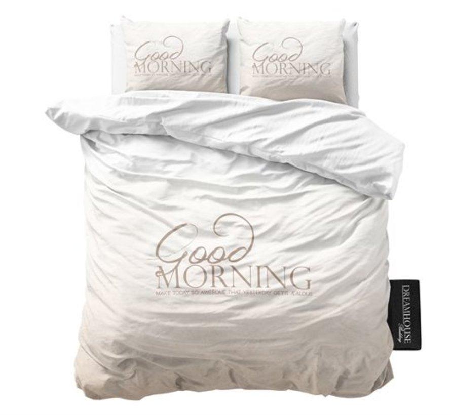 Dekbedovertrek Soft Morning Taupe