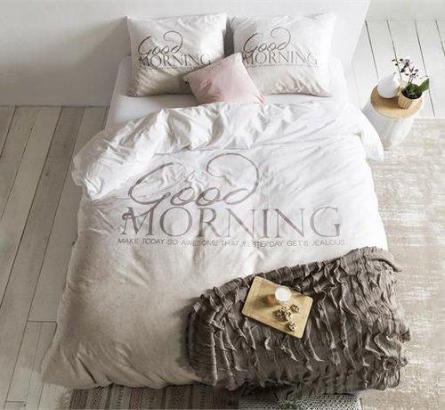 Dreamhouse Bedding Dekbedovertrek Soft Morning Taupe