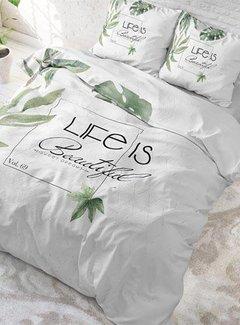 Sleeptime Pure Cotton Dekbedovertrek Life Is Green