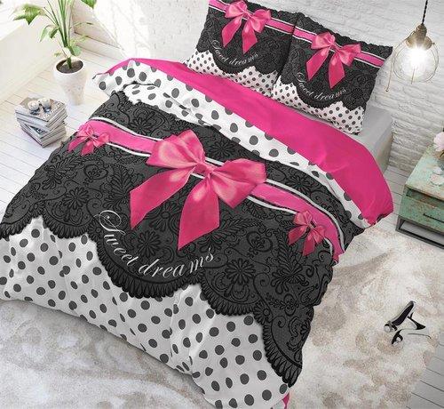 Sleeptime Pure Cotton Dekbedovertrek Romance Pink