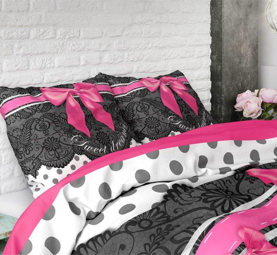 Dekbedovertrek Romance Pink