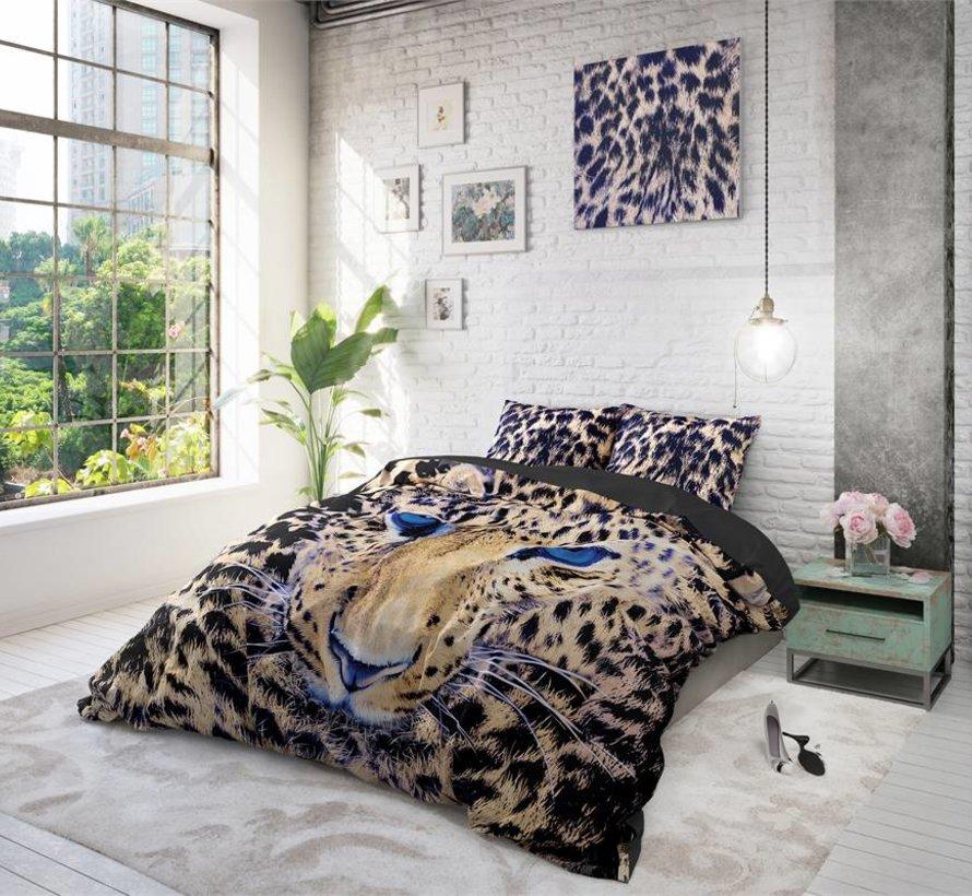 Dekbedovertrek Cheetah Taupe