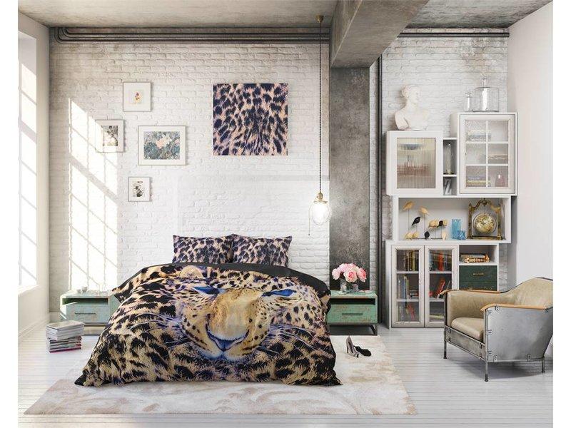 Sleeptime Pure Cotton Dekbedovertrek Cheetah Taupe