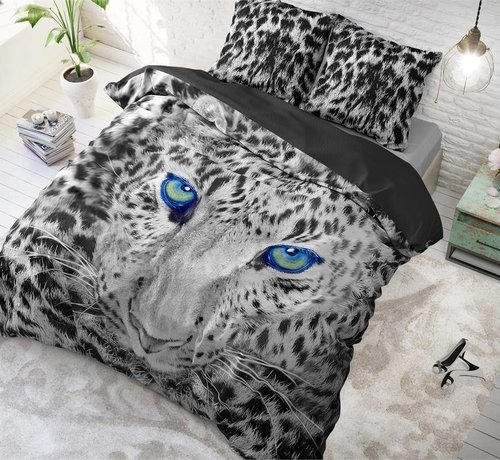 Sleeptime Pure Cotton Dekbedovertrek Cheetah Grey