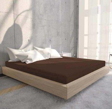 Suite Sheets Jersey Hoeslaken Bruin