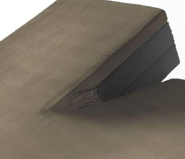 Suite Sheets Split Topper Jersey Hoeslaken Taupe