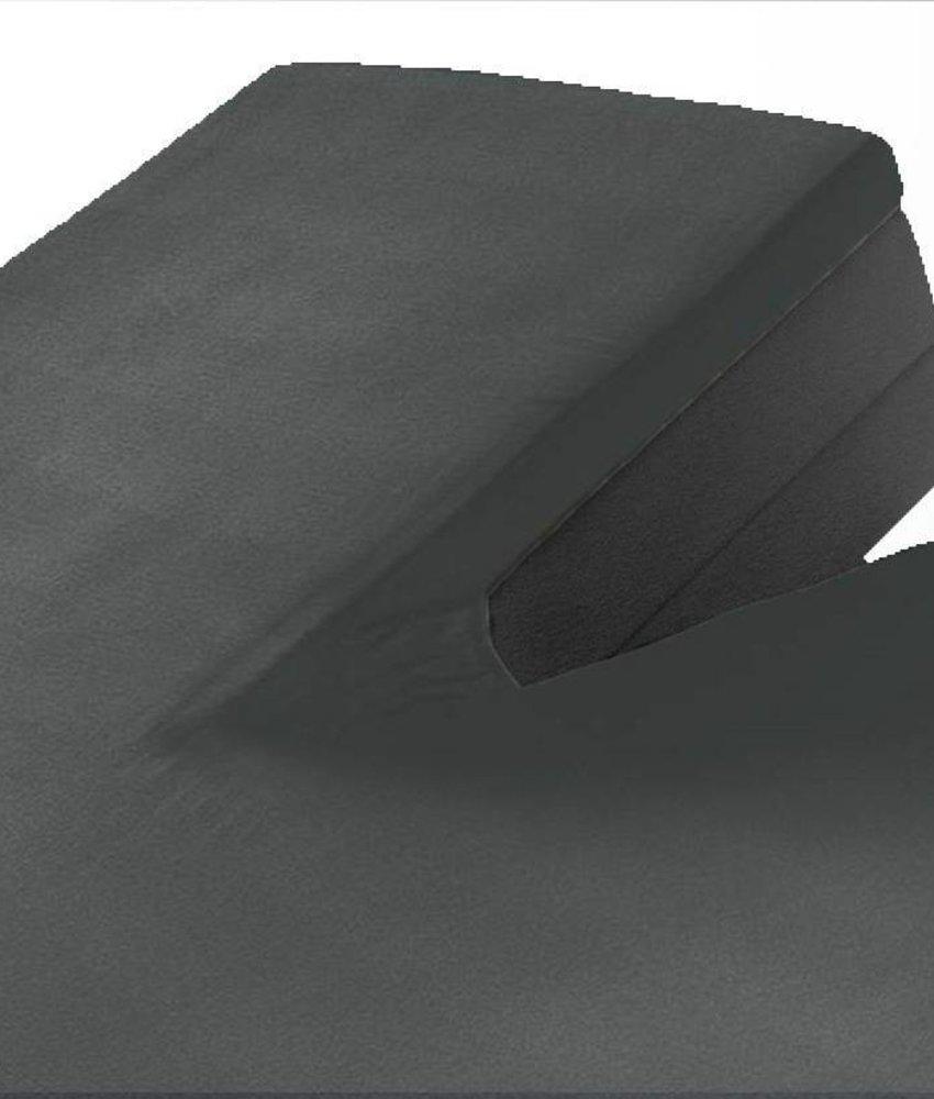 Split Topper Jersey Hoeslaken Antraciet