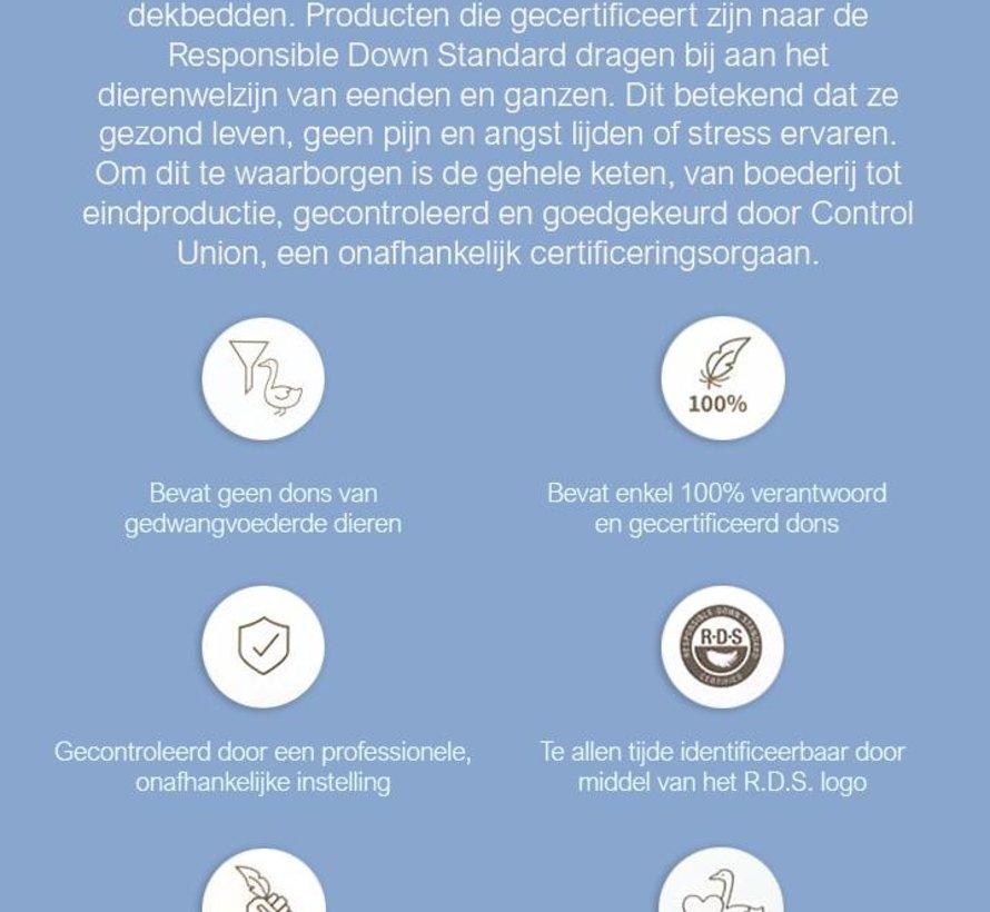 4 Seizoenen Donzen Dekbed - 90% Ganzendons