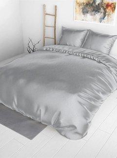 Sleeptime Dekbedovertrek Satijn Zilver