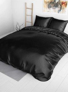 Sleeptime Dekbedovertrek Satijn Zwart