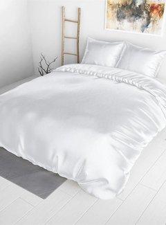 Sleeptime Dekbedovertrek Satijn Wit