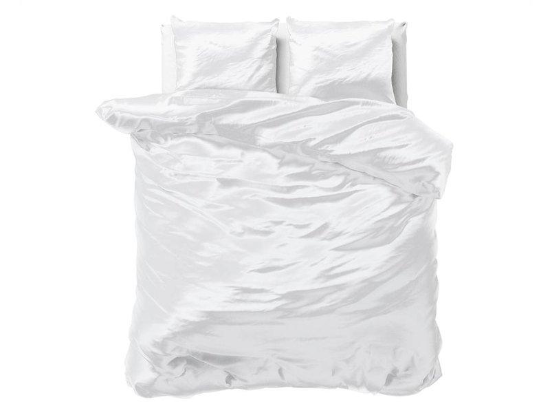 Sleeptime Dekbedovertrek Satijn Wit - Beauty Skin Care