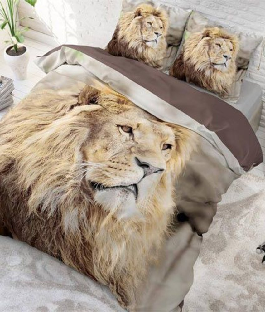 Dekbedovertrek Lion Mind