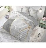 Sleeptime Pure Cotton Dekbedovertrek Graphic White