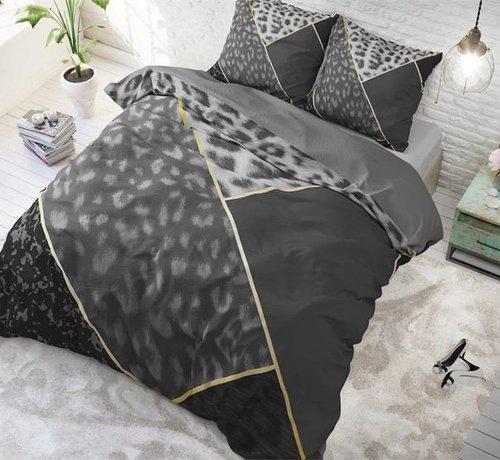 Sleeptime Pure Cotton Dekbedovertrek Panter Vibe Antraciet