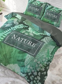 Sleeptime Pure Cotton Dekbedovertrek Organic Nature Groen