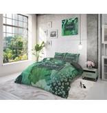 Sleeptime Pure Cotton Dekbedovertrek Organic Nature Groen