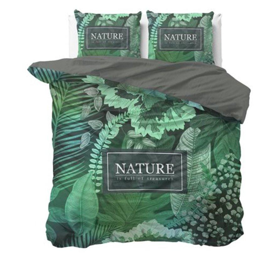 Dekbedovertrek Organic Nature Groen