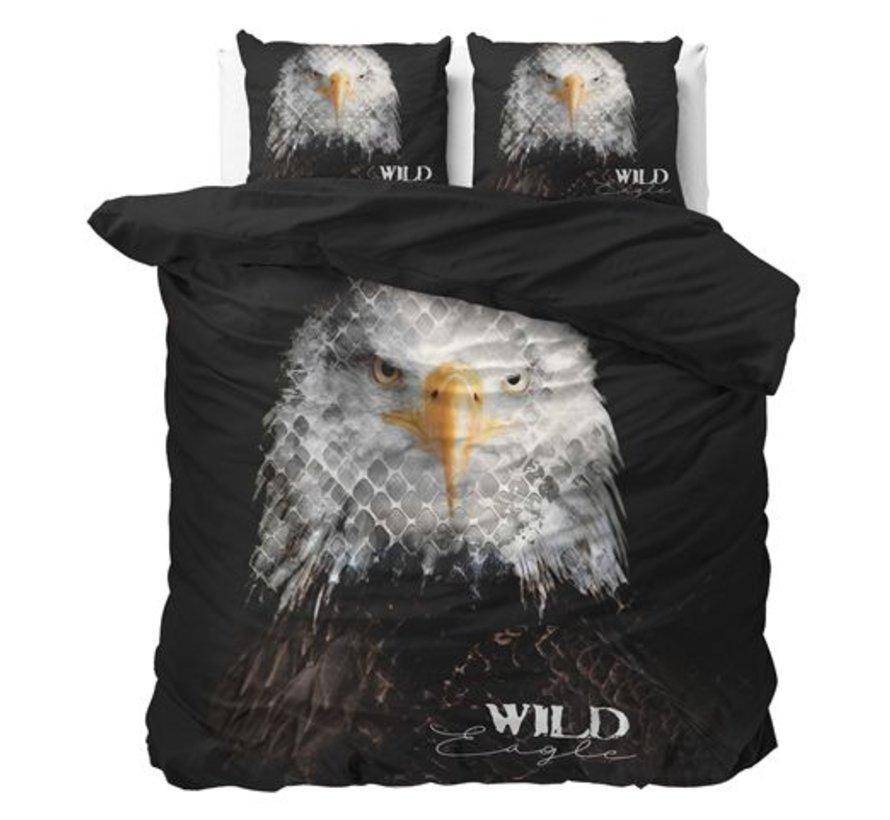 Dekbedovertrek Wild Eagle Zwart
