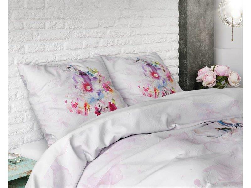 Sleeptime Pure Cotton Dekbedovertrek Oliva