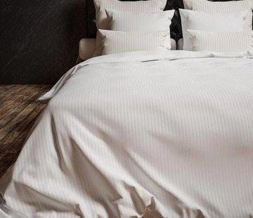 Heckett & Lane Dekbedovertrek Katoen Satijn Hotellinnen Wit