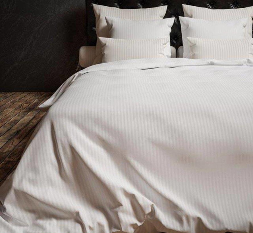 Dekbedovertrek Katoen Satijn Hotellinnen Wit