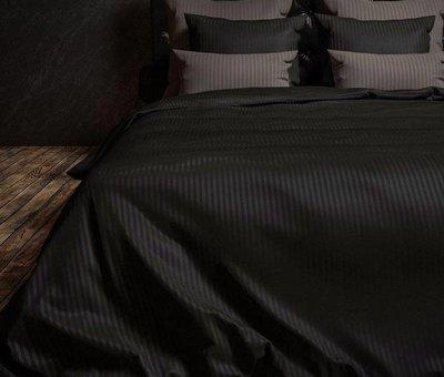 Heckett & Lane Dekbedovertrek Katoen Satijn Hotellinnen Zwart