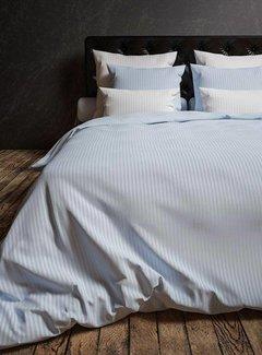 Heckett & Lane Dekbedovertrek Katoen Satijn Hotellinnen Blauw