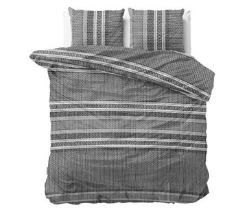 Dreamhouse Bedding Dekbedovertrek Flanel Paige Grey