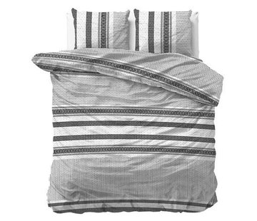 Dreamhouse Bedding Dekbedovertrek Flanel Paige White