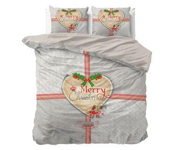 Dreamhouse Bedding Dekbedovertrek Merry Christmas Grey