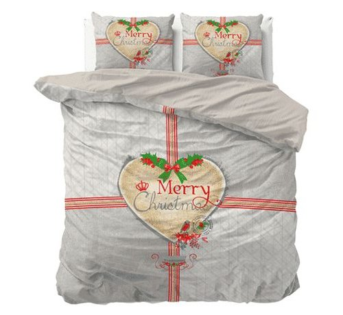 Dreamhouse Bedding Dekbedovertrek Merry Christmas Grey