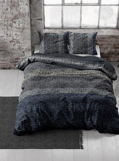 Dreamhouse Bedding Dekbedovertrek Flanel Gradient Knits Blue