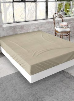 Dreamhouse Bedding Hoeslaken Flanel Taupe